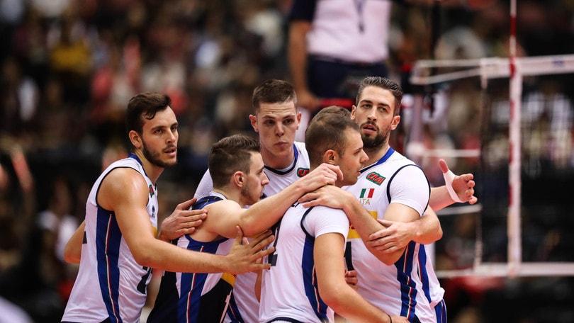 World Cup: tutto facile per l'Italia con la Tunisia