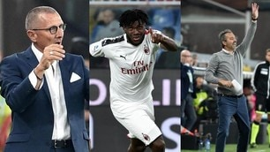 Genoa-Milan 1-2, Giampaolo sorride e Andreazzoli ora trema