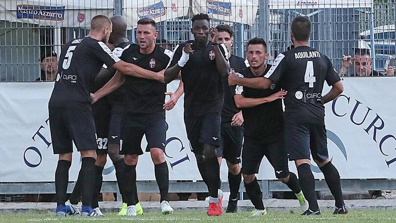 Serie C Teramo-Rieti 1-1. Primo punto amarantoceleste per Pezzotti