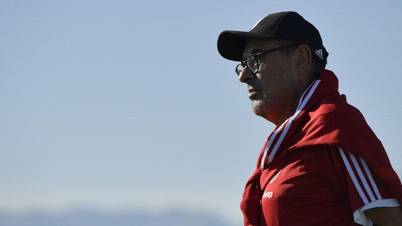 Juve al lavoro: Sarri prepara la sfida con il Bologna