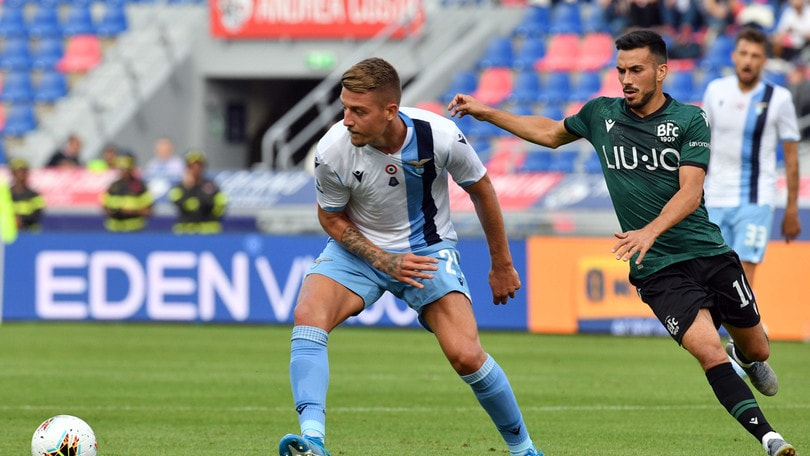 Bologna-Lazio 2-2, il tabellino