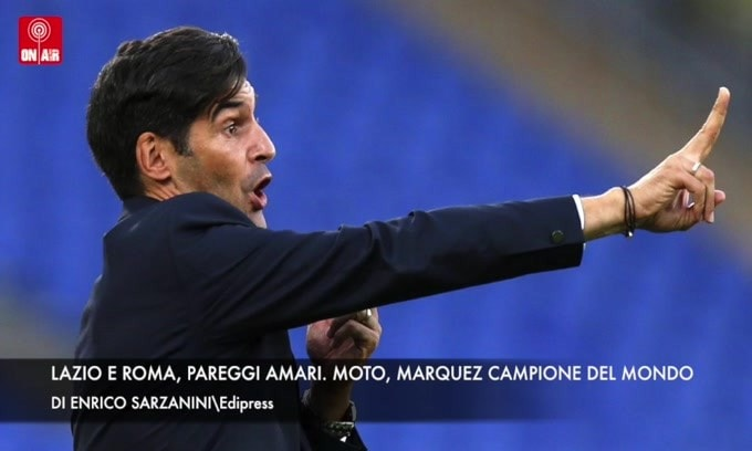 Lazio e Roma, domenica amara. Moto, Marquez campione del mondo