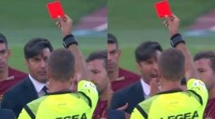 Fonseca furioso con l'arbitro Massa: espulso!