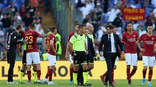 Roma fermata dal Cagliari: Fonseca infuriato, Diawara va ko