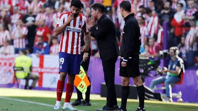 Il palo dice no ad Angel Correa: l'Atletico frena a Valladolid