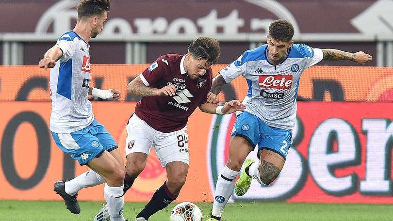 Torino-Napoli 0-0, il tabellino