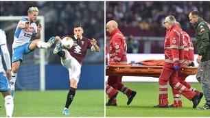 Il Napoli impatta col Torino, che paura per Hysaj!