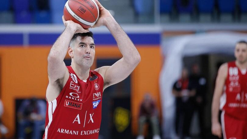 Serie A basket: bene Milano, prima vittoria per la Virtus Roma