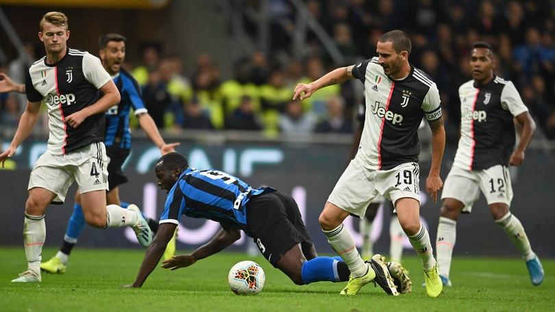 Inter-Juventus 1-2, il tabellino
