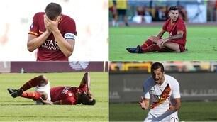 Roma, quanti infortuni! Con Dzeko e Diawara sono 12 in stagione