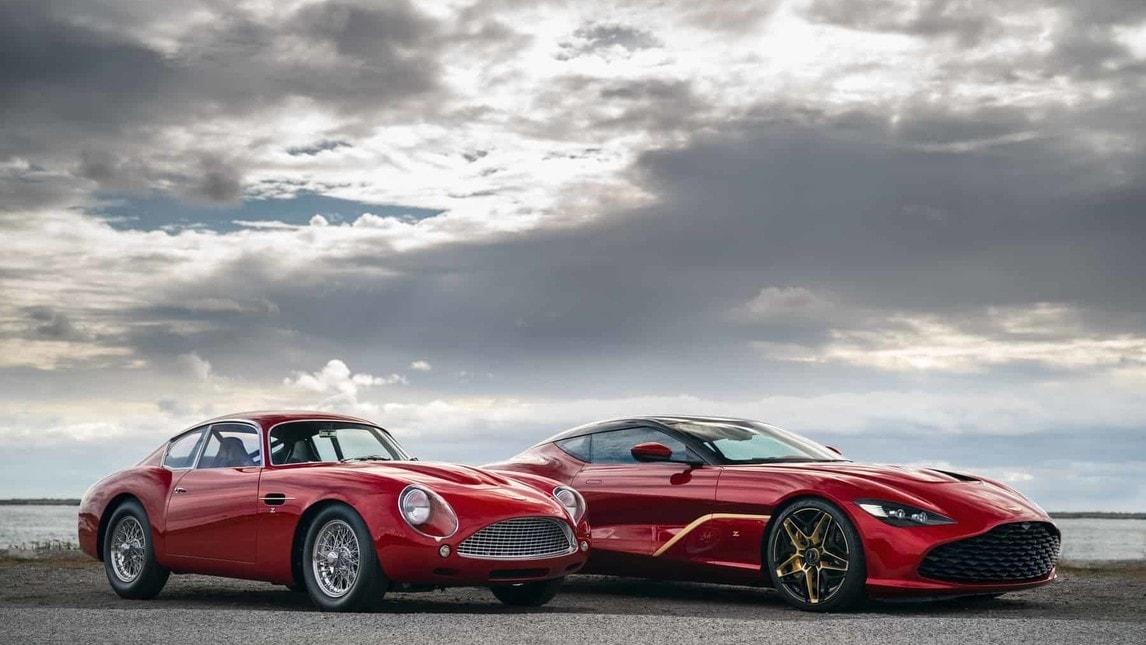 Aston Martin DBS GT Zagato, le foto della serie speciale