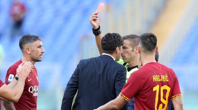 Fonseca, due giornate di squalifica per l'espulsione con il Cagliari