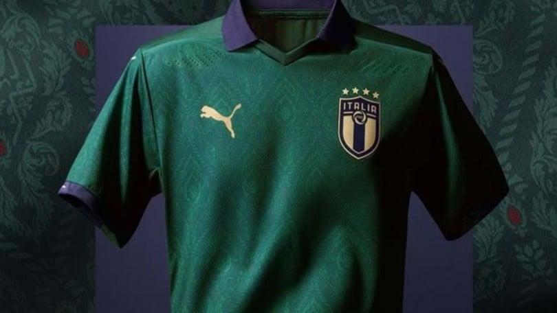 Italia, contro la Grecia torna la maglia verde