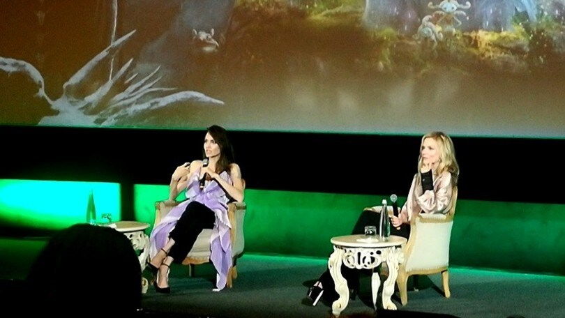 Angelina Jolie e Michelle Pfeiffer a Roma presentano Maleficent 2