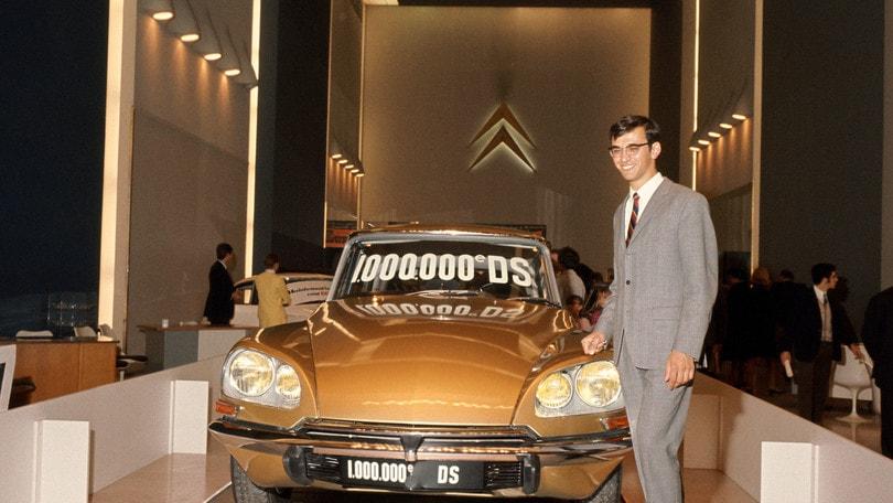 Citroën DS: il 7 ottobre 1969 prodotto il milionesimo esemplare