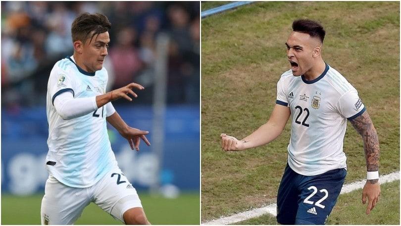 Dybala-Lautaro, da avversari a tandem d'attacco dell'Argentina