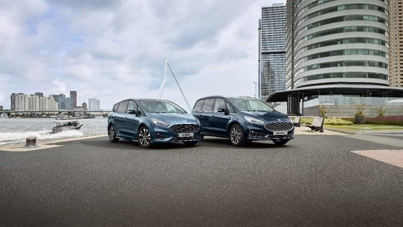 Ford S-Max e Galaxy 2020, tra comfort e connettività