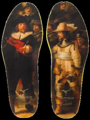 """La Mizuno Wave Ultima 11 Amsterdam si veste del dipinto """"The Night Watch"""" di Rembrandt"""