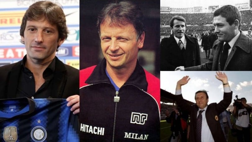 I sette tecnici ad aver allenato Inter e Milan
