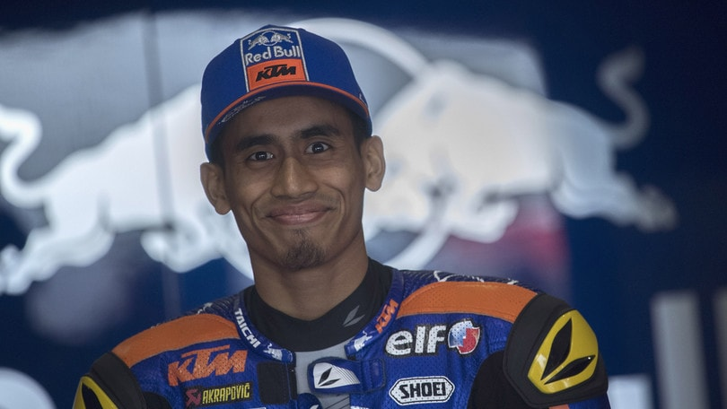 Syahrin scende di categoria, firma in Moto2 con il Team Nieto