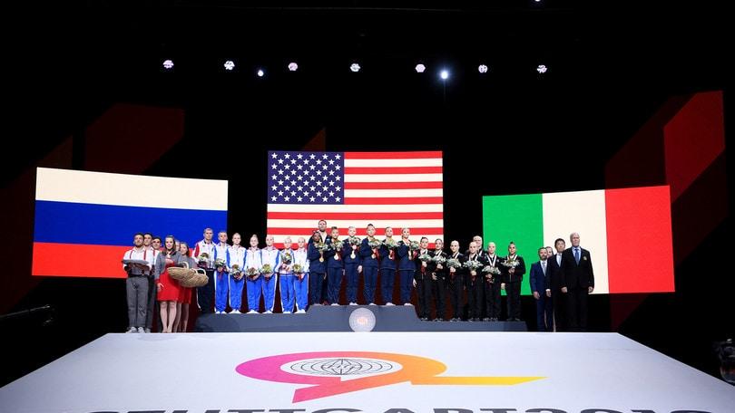 Italia di bronzo ai Mondiali di ginnastica