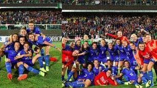 Italia donne, che festa a Palermo per la vittoria con la Bosnia