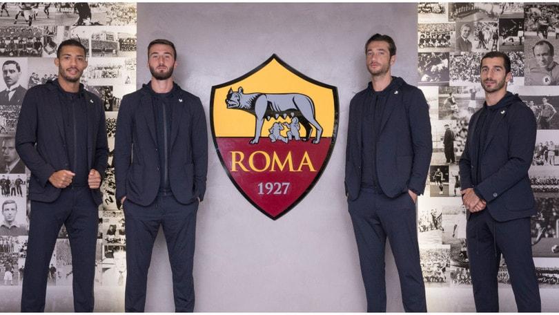 L'AS Roma veste Tombolini