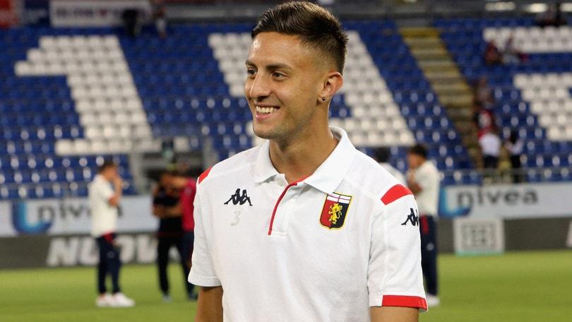 Genoa, Barreca torna a lavorare con il pallone