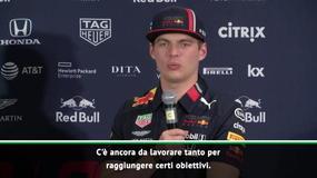 """Verstappen: """"Finalmente il podio..."""""""