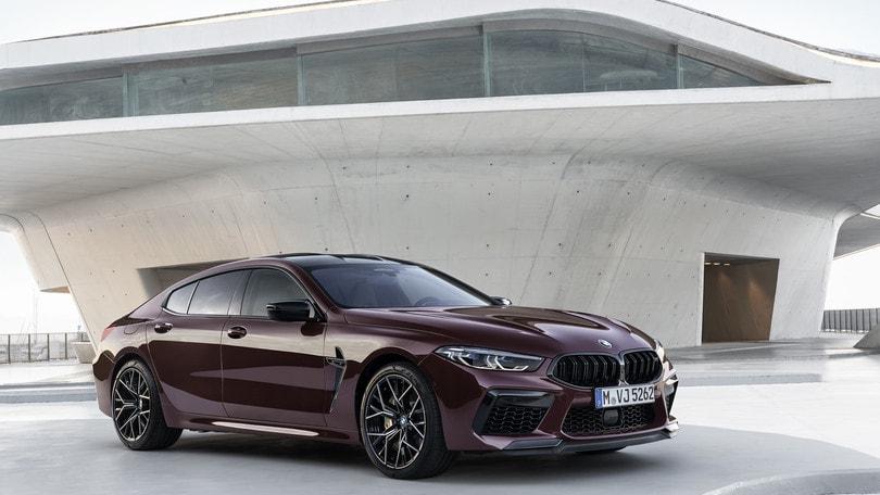 BMW M8 Gran Coupé Competition, lusso e prestazioni