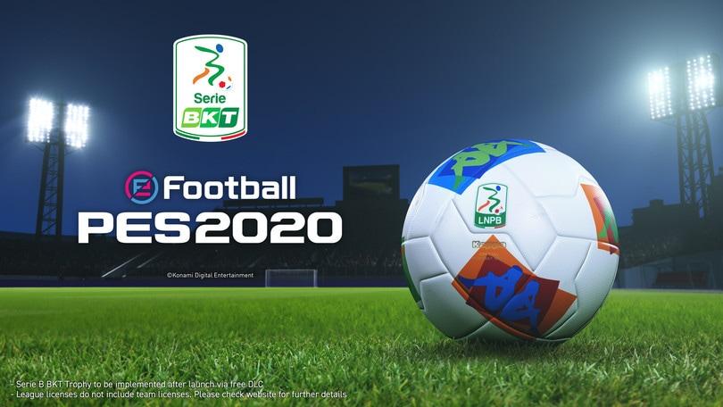 La Serie B è su PES2020: arriva l'ufficialità