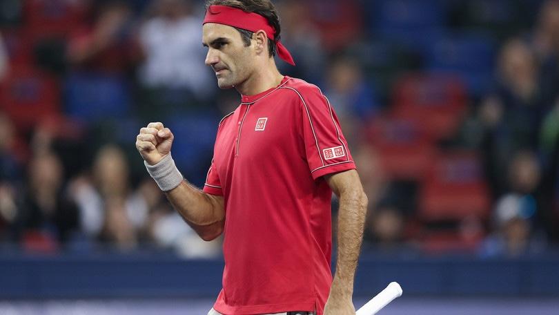 Shanghai, Federer supera Goffin e centra i quarti di finale