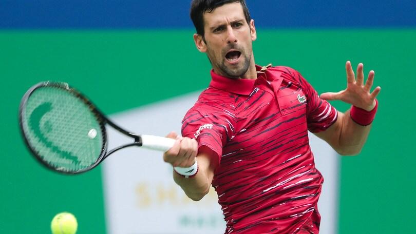 Torneo di Shanghai, Djokovic eliminato da Tsitsipas