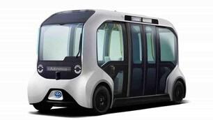 Toyota e-Palette Tokyo 2020: le immagini