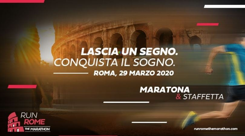 Run Rome The Marathon: aperte le iscrizioni