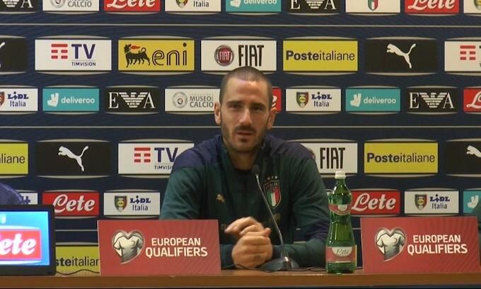 """Bonucci: """"100 in Nazionale? Dipende dal mister"""""""
