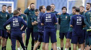 Italia-Grecia, la probabile formazione di Mancini