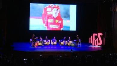 Mito Schumacher, da Trento il messaggio di Leclerc