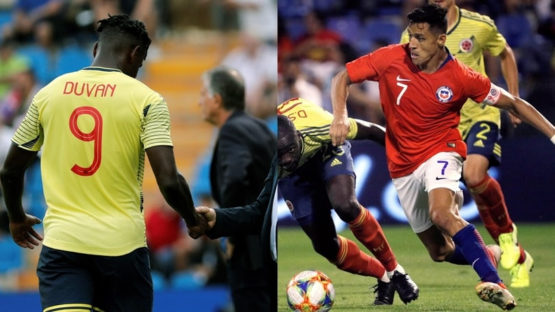 Infortunio perZapata e Sanchez in Colombia-Cile