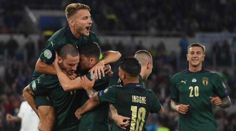Italia-Grecia 2-0: qualificazione ad Euro 2020, Mancini da record