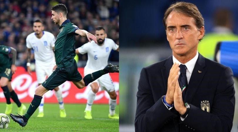 La festa dell'Italia a Roma: 2-0 alla Grecia e pass per gli Europei 2020