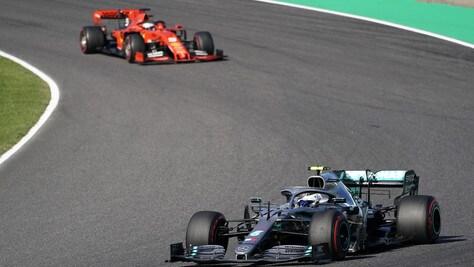 F1 Giappone, la Ferrari spreca: vince Bottas davanti a Vettel, settimo Leclerc