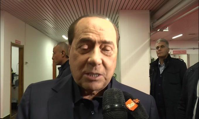 """Berlusconi: """"Inter e Juve stanno giocando bene a fasi alterne"""""""