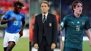 Mancini, obiettivo Mondiale: 10 under 22 nella lista del CT