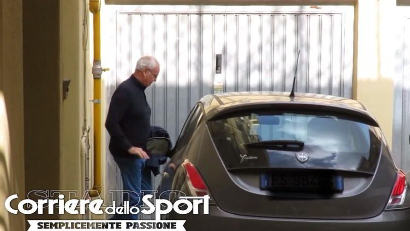 Roma, Ranieri parte per Genova: comincia l'avventura alla Sampdoria