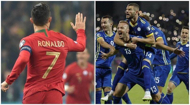 """Cristiano Ronaldo, 700° gol in carriera! Berisha vince il """"derby"""" con Marusic"""