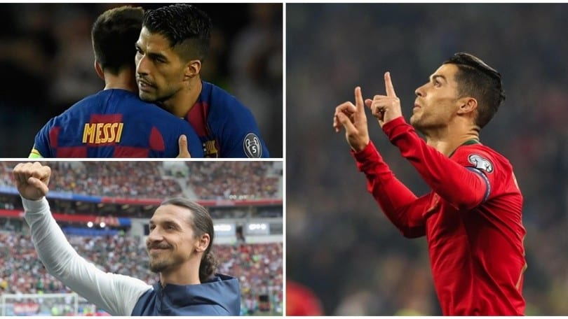 Cristiano Ronaldo, 700° gol: Messi, Ibrahimovic e Suarez inseguono