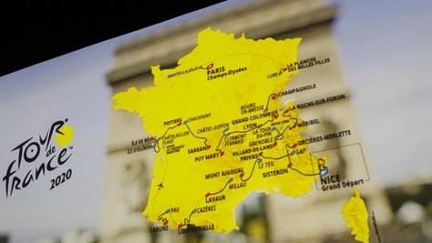 Svelato il Tour de France 2020, una sola tappa a cronometro