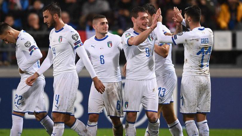 Liechtenstein-Italia 0-5: Mancini eguaglia Pozzo