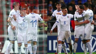Italia, che manita: goleada al Liechtenstein